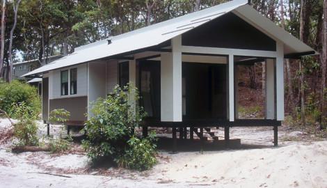 Fraser Island Rangers Houses 2005